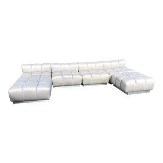 Tufted Sofa in the Manner of Harvey Probber For Sale