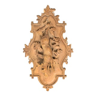 19th Century Bavarian Hunt Plaque For Sale