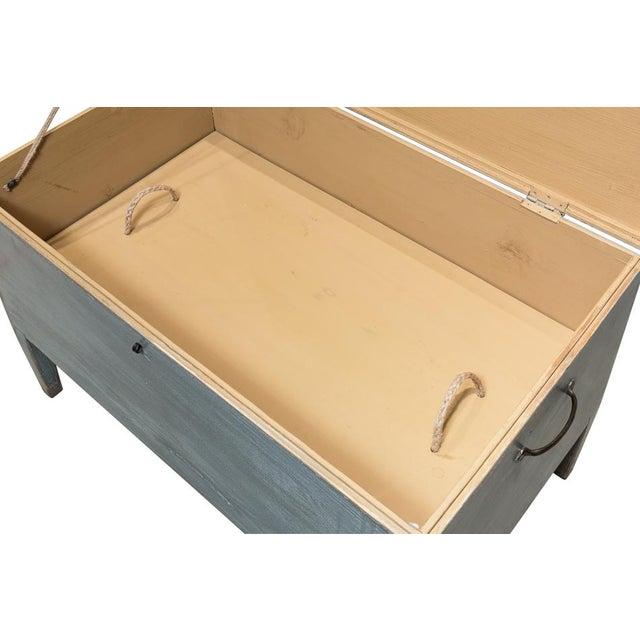 Sarreid Ltd. Sarreid Ltd. Trunk Storage Side Table For Sale - Image 4 of 6