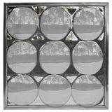 Image of Iconic Pop Art Op Art Plexi Nine Bubbles Mirror For Sale