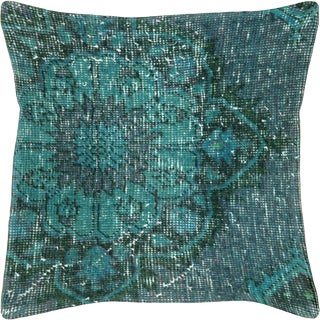"Nalbandian - Overdyed Turkish Oushak Pillow, 20"" X 20"" For Sale"