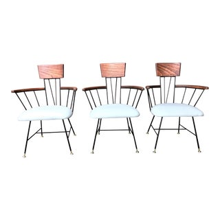 Mid Century Vintage Richard McCarthy Chairs - Set of 3 For Sale