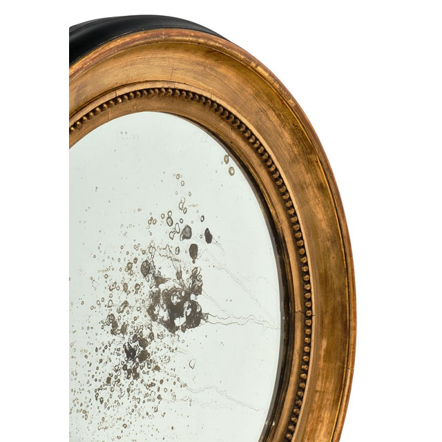 Late 18th Century Louis XVI Period French Round Mirror For Sale - Image 5 of 10