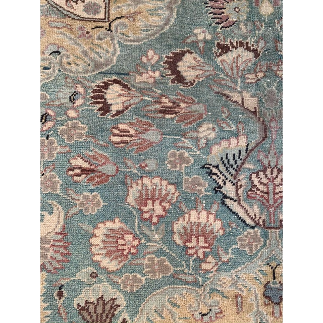 Islamic Antique Persian Area Rug- 4′9″ × 6′5″ For Sale - Image 3 of 9
