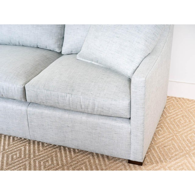 2020s EJ Victor Upholstered Modern Shelby Sofa For Sale - Image 5 of 6