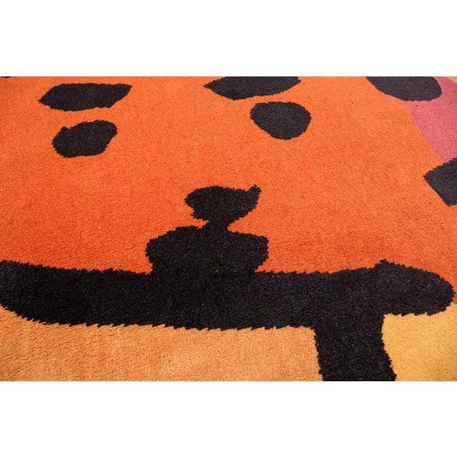 Paul Klee Artist Scandinavian Rug - 4′8″ × 6′6″ For Sale - Image 11 of 13