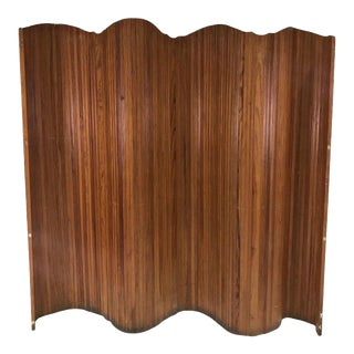 Early 20th Century Classic French Accordion Privacy Screen For Sale