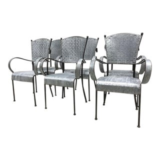 Olive Bucket Dining Chairs - Set of 6