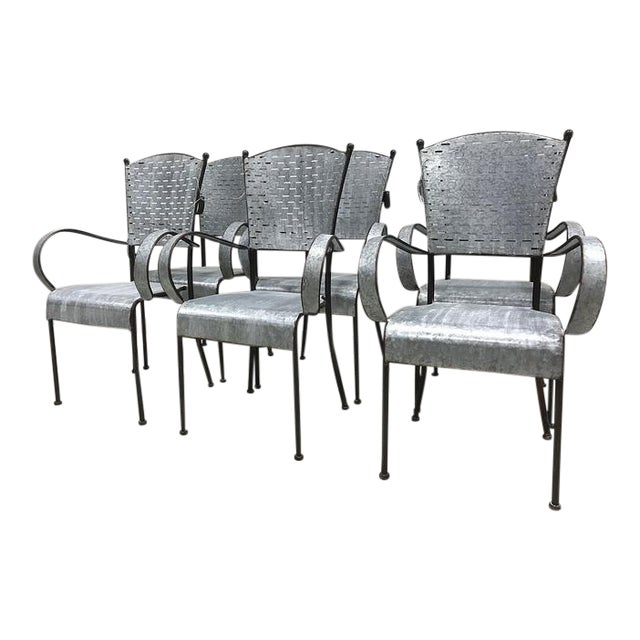 Olive Bucket Dining Chairs Set Of 6
