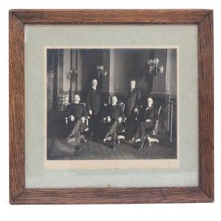 Colorado Court Judge & Associates 1911-1915 Framed Photograph For Sale