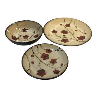 Aster Pfaltzgraff Studio Dishes - Set of 3 For Sale