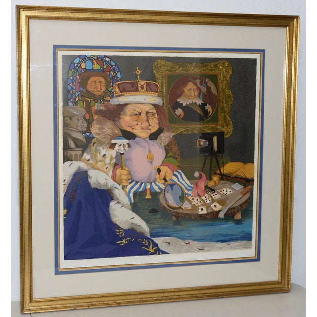 """Charles Bragg """"King of Me's"""" Limited Edition Signed Serigraph For Sale - Image 11 of 11"""