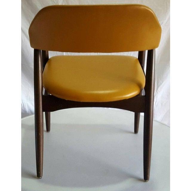 Danish Modern Teak Desk Chair - Image 4 of 5