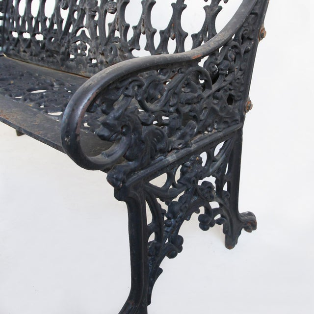 Stupendous French Cast Iron Garden Bench Pdpeps Interior Chair Design Pdpepsorg