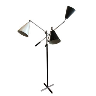 1960s Vintage Italian Arredoluce 'Triennale' Floor Lamp For Sale