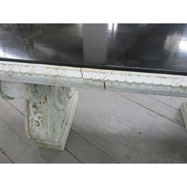 1930s Antique Garden Bench For Sale - Image 5 of 5