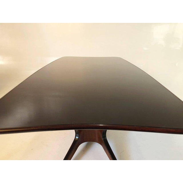 Red Fossati, Attilio & Arturo Dining Table, Italy, Circa 1950 For Sale - Image 8 of 10