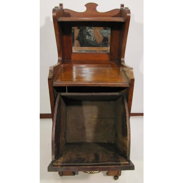 1920s English Wooden Coal Hod For Sale - Image 5 of 8