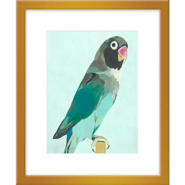 """Contemporary Small """"Arlo"""" Print by Neicy Frey, 17"""" X 21"""" For Sale - Image 3 of 3"""