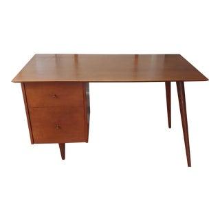 1950s Mid-Century Modern Paul McCobb Planner Group Writing Desk For Sale