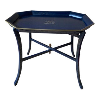 Thomas Messel Lacquered Tray Table For Sale