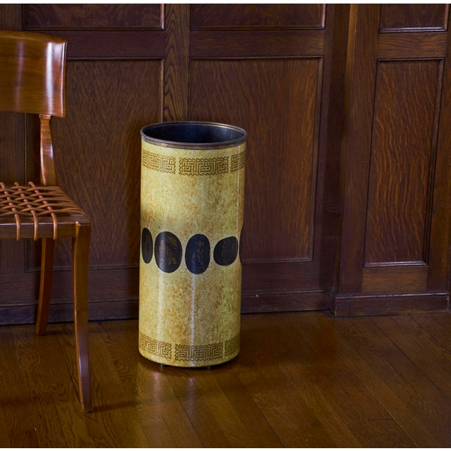 Art Deco Piero Fornasetti Umbrella Stand, Early Example, Circa 1950's For Sale - Image 3 of 9