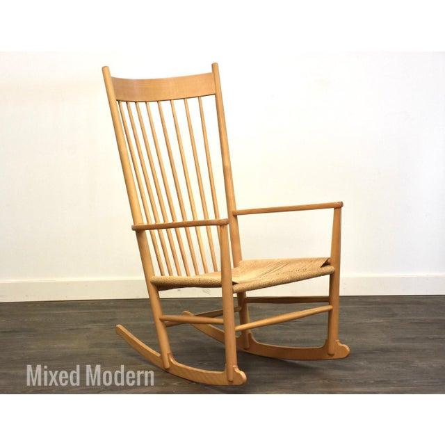 Hans Wegner Danish Rocking Chair For Sale - Image 10 of 10