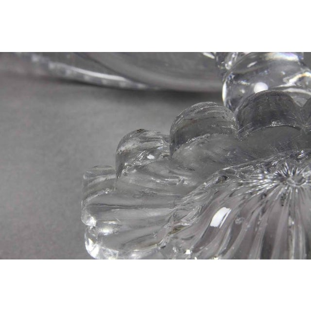 George III Irish Cut Glass Footed Compote For Sale - Image 10 of 11