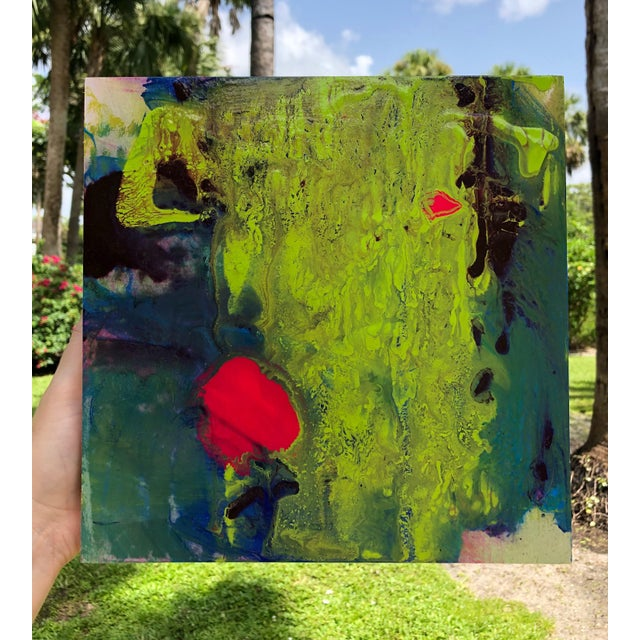 Born in Havana, Cuba, in the late 70s during a well-documented time of religious and political o ppression, abstract...