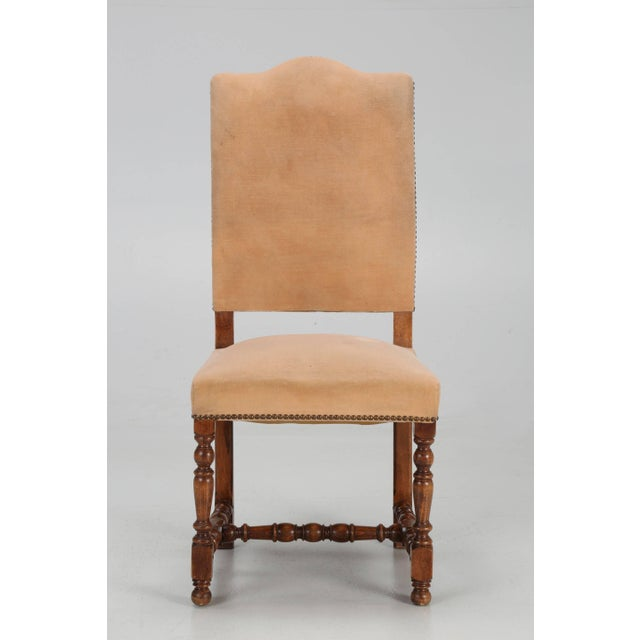 Antique French Dining Side Chairs - Set of 6 For Sale - Image 11 of 12
