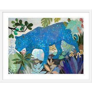 """Medium """"Blue Electric"""" Print by Martyna Zoltaszek, 31"""" X 25"""" For Sale"""