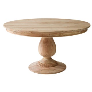 Charlotte Pedestal Table - 55""