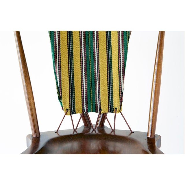 Wood Set of Koppel Chairs for Slagelse Møbelvaerk For Sale - Image 7 of 9