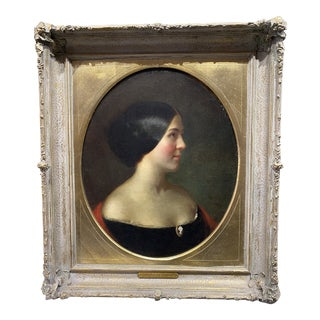 Late 19th Century American Oil Painting Attributed to Thomas LeClear For Sale
