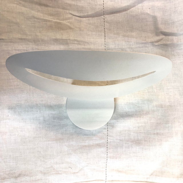 2010s Artemide Mesmeri Wall Sconce in White For Sale - Image 5 of 10