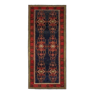 Vintage Kazak Kilim | 6'1 X 15'7 For Sale