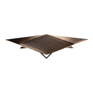 Waypoint Centerpiece in Aged Bronze by Force/Collide For Sale