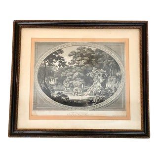 "Original Shakespeare ""Henry IV Act 4 Falstaff and His Ragged Regiment"" Engraving, Framed For Sale"