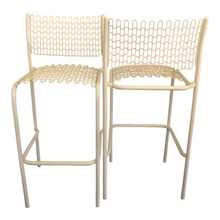 S/5 David Rowland for Thonet Sof-Tek Patio Outdoor/ Indoor Bar Stools