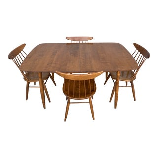 Mid Century Modern Conant Ball Dining Set - 5 Pieces For Sale