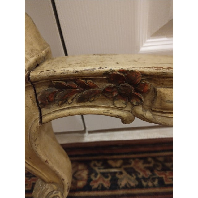 Tan 19th Century Antique Twin Headboard and Footboard For Sale - Image 8 of 13