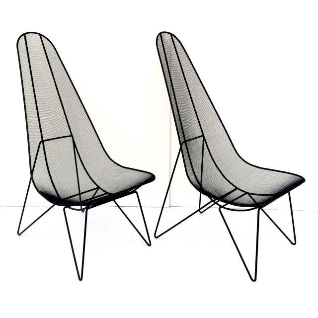 Pair of Sol Bloom Scoop Chairs - Image 10 of 10