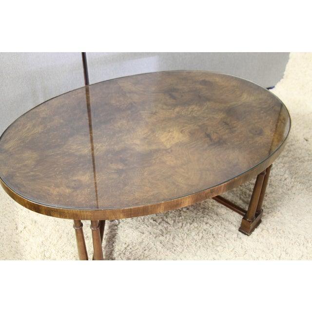 Vintage Wood Coffee Table - Image 4 of 5