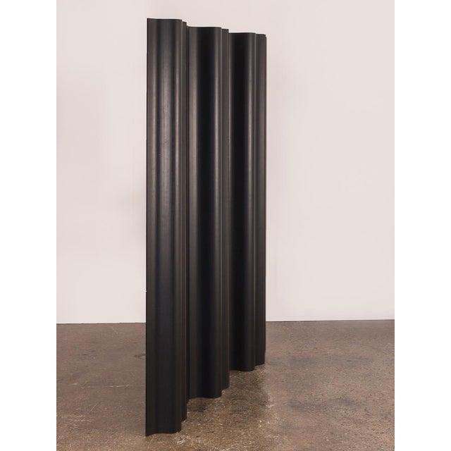 Abstract Eames Ebonized Folding Wood Screen Fws-6 For Sale - Image 3 of 10
