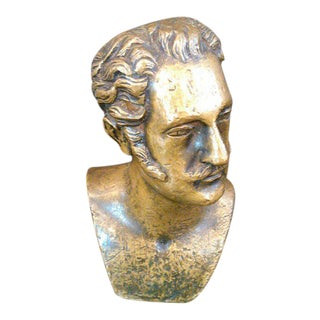 Classical Edwardian Bronze Bust For Sale