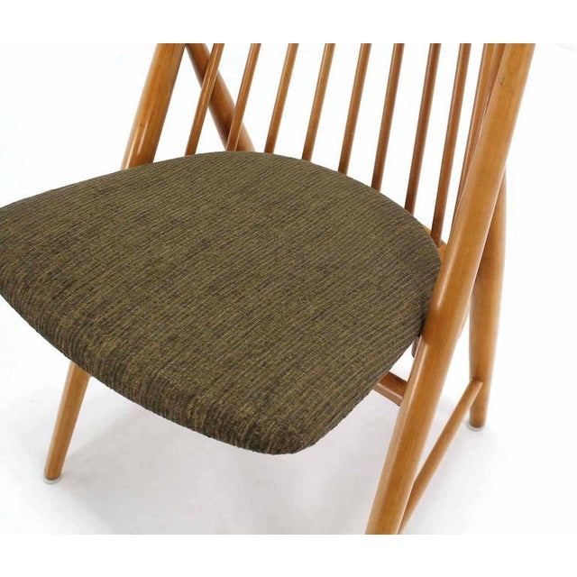 Pair of Swedish Spindle Dowel Back Chairs For Sale - Image 4 of 10