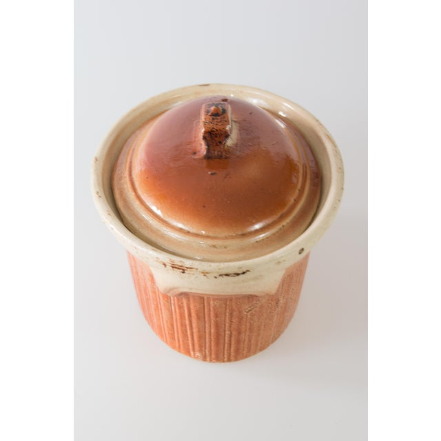 Cottage Antique French Lidded Pate Terrine For Sale - Image 3 of 8