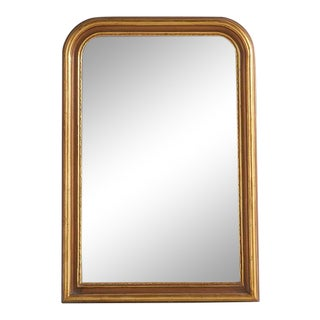 """Louis Phillipe Style Gold Mirror, Mediano 35""""w X 51""""h For Sale"""