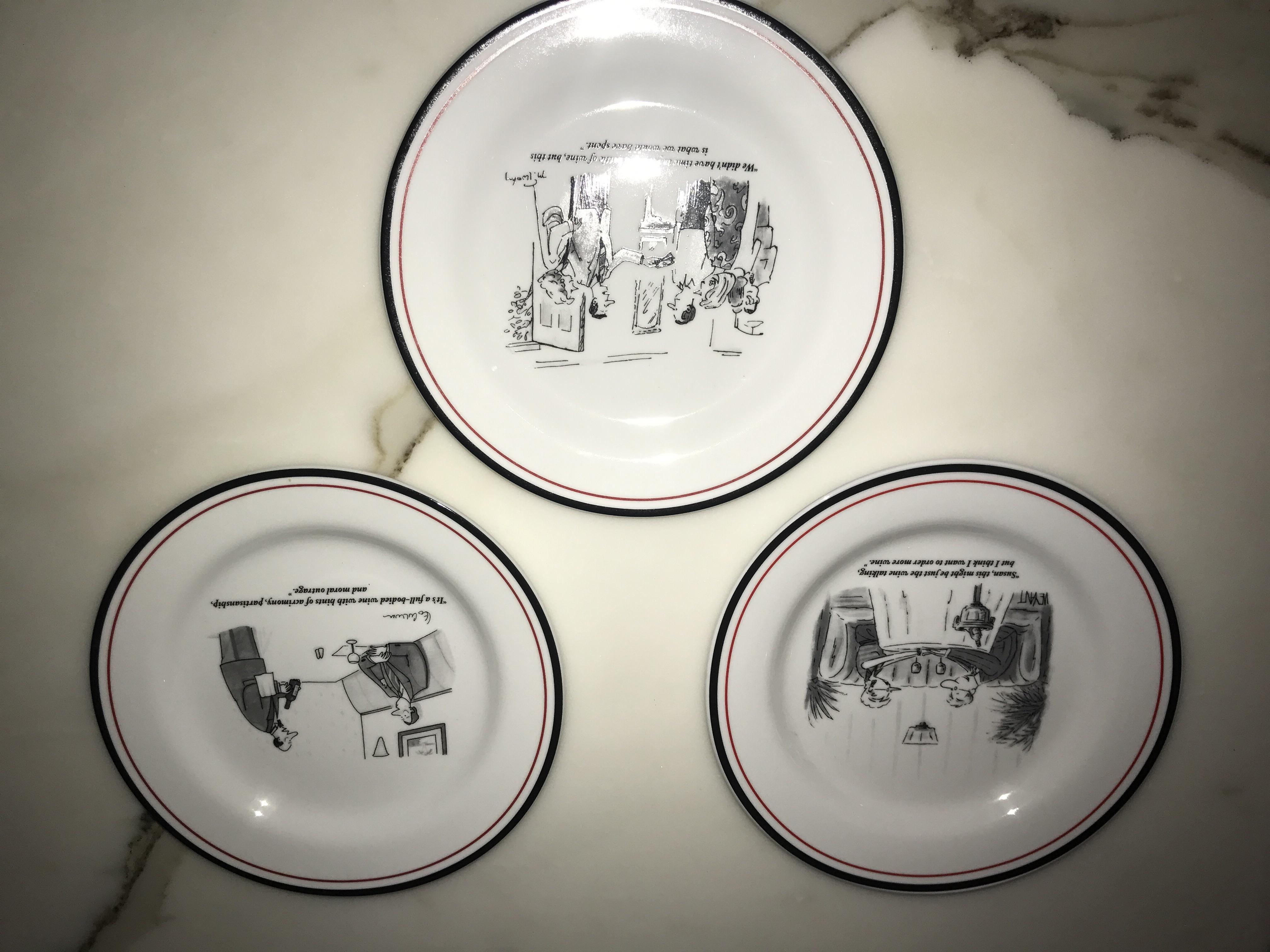Restoration Hardware The New Yorker Cheese Plates - Set of 6 - Image 3 of 7  sc 1 st  Chairish & Restoration Hardware The New Yorker Cheese Plates - Set of 6 | Chairish