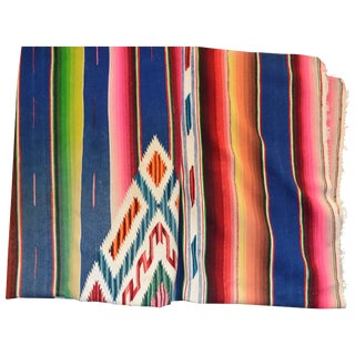 Antique Mexican Saltillo Serape